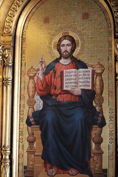 Vladimir Kulesha, Icon-art studio «Synergy»  | The Saviour. Iconostasis of St. Nicholas convent