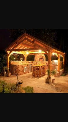 rustic lighting ideas outdoor kitchen romantic outdoor kitchens ideas in wooden gazebo at night with lovely lights and rustic brick cabinet also wooden