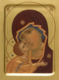 Igorevskaya Icon of the Mother of God - Hand-Painted Icon from the Workshop of…