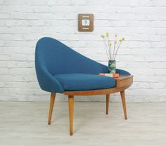 1960's telephone bench | from sij2012 via Oh So Lovely Vintage