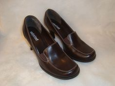 Unlisted Sz 8 US 39 EU Women's Dark Chocolate Brown Classic Pump Heel Shoes #Unlisted #PumpsClassics