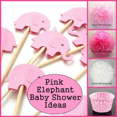 Baby Shower Theme Idea : Pink Elephants