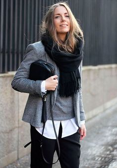 DicadeStilo | Como manter o estilo nos dias frios com muitas camadas de roupas!!