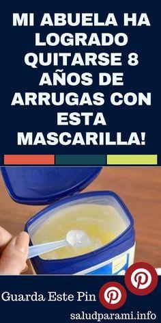 MI ABUELA HA LOGRADO QUITARSE 8 AÑOS DE ARRUGAS CON ESTA MASCARILLA! #salud #remediosnaturales #abuela #arrrugas #mascarillas