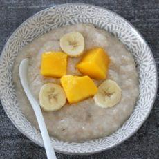 Nachmittagsbrei Mango Banane