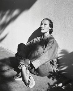 Louise Dahl Wolfe, Dolores Del Rio, Hollywood, 1938