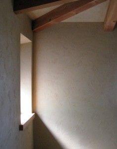 Beautiful clay plaster walls