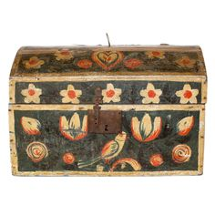 French Marriage Box | From a unique collection of antique and modern boxes at http://www.1stdibs.com/furniture/more-furniture-collectibles/boxes/