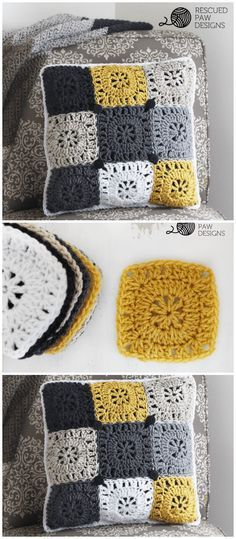 I have rounded up a list of #crochet #Pillow patterns that will help you out to make your home well organized and more beautiful. Pillow Crochet Pattern