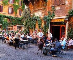CAFFE' DELLA PACE, Rome  #cafe #caffe #rome