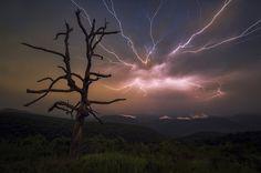 Stormy Night Over Shenandoah