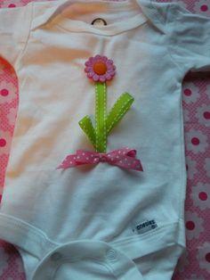 More embellished onesie ideas!