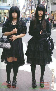 Harajuku Fashion, Lolita Fashion, Grunge Fashion, Gothic Fashion, Mori Fashion, Fashion Looks, Edgy Outfits, Pretty Outfits, Cool Outfits