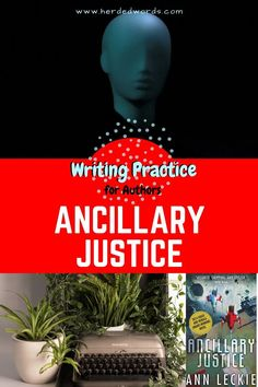 Practice fiction writing & improve your skills with the award-winning novel ANCILLARY JUSTICE. Writing A Novel Tips, Editing Writing, Fiction Writing, Start Writing, Writing Practice, Writing Help, Writing Skills, Ancillary Justice, Novels For Beginners