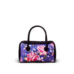 NEOS-JS-FL-BLUE - Borsa sportiva da giorno in neoprene con zip. - una borsa realizzata da LOOMLOOM - made in Italy.