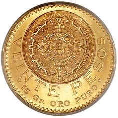 Silver Coins Worth, Gold And Silver Coins, Bullion Coins, Gold Bullion, Gold Coins For Sale, Mexican Peso, Silver Investing, Foreign Coins, Coin Worth