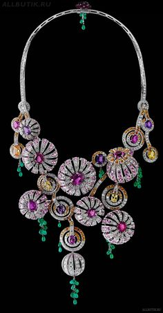 The House of Boucheron: These look like very, very expensive sea urchins, and yet I love them.