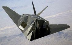 The Lockheed F-117 Nighthawk was a single-seat, twin-engine stealth ground-attack aircraft formerly operated by the United States Air Force.  http://flyboyzs.com/photo/military-aircraft-photos, #FlyboyzsF117Nighthawk #FlyboyzsMilitary #FlyboyzsAircraft  #Flyboyzs