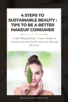 """There is a massive impact on the earth from hard-to-recycle cosmetic packaging, as well as ingredients in the products that aren't just harmful to the planet (particularly aquatic and marine life) but also to us! It really all comes down to self-regulation and making """"cleaner"""" choices can help preserve us and the earth. Best Makeup Tips, Makeup Hacks, Best Makeup Products, Easy Makeup Tutorial, Makeup Tutorial For Beginners, How To Wear Makeup, Power Of Makeup, Makeup Needs, Self Regulation"""
