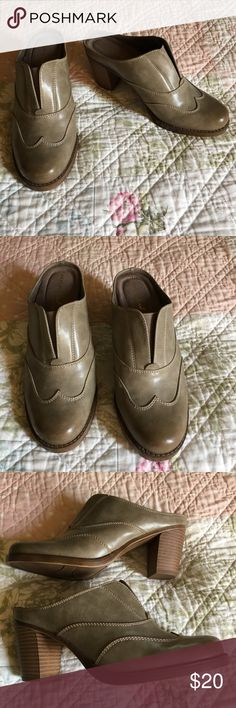 13ac4d854b70 Natural Soul by Naturalizer size 8M. Gently worn. A65 Natural Soul by  Naturalizer taupe Heels size 8M. Very comfortable. Naturalizer Shoes Heels