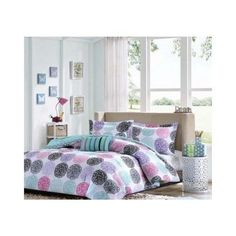 Full/queen Reversible Comforter Set Pink Teal Purple Bedding Teen Girls Pillows Mi-Zone http://www.amazon.com/dp/B00MKAWHIQ/ref=cm_sw_r_pi_dp_euxaub02B7KTE