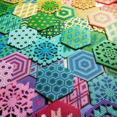 Perler bead designs by Julie K. Gray