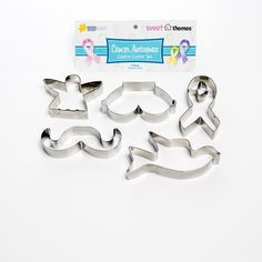 This Sweet Themes Cancer Awareness Cookie Cutter Pack is available at stockists throughout Australia.  By purchasing one of these packs you ensure a donation is made to the Queensland Cancer Council.  It is perfect for Pink Ribbon Events, Movember Events or any Awareness Ribbon Event.  See the store locator on our website.