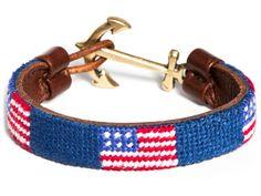 Needlepoint Bracelets - American Dream - by Kiel James Patrick