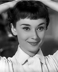 1953 - Audrey Hepburn revealed a pixie cut in the film 'Roman Holiday'; about a princess who goes incognito thanks to a hairdresser chopping off her long strands to get a break from her royal duties. This film clip shows her hair being cut off ... https://www.youtube.com/watch?v=hJ4ZU-FA5XA