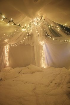 I don't think you ever get too old to enjoy a cozy blanket fort.