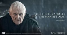 Game Of Thrones - Maester Aemon Frases Game Of Thrones, Got Game Of Thrones, Valar Dohaeris, Valar Morghulis, Game Of Thrones Maester, Jon Snow Gif, Game Of Thones, My Champion, Hbo Series