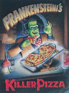 The Effective Pictures We Offer You About Pizza fotografia A quality picture can tell you many things. You can find the most beautiful pictures that can be presented to you about Pizza recette in this Scary Snakes, Creepy, Halloween Pizza, Halloween Stuff, Pizza Art, Pizza Pizza, Frankenstein's Monster, Danse Macabre, Bride Of Frankenstein