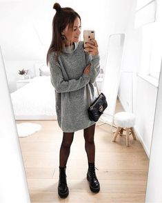 outfit for promo night of sorority recruitment Winter Outfits For Teen Girls, Winter Fashion Outfits, Fall Winter Outfits, Look Fashion, Autumn Winter Fashion, Womens Fashion, Fashion 2020, Fashion Beauty, Mode Outfits