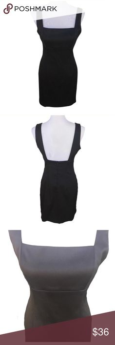 """Laundry by Shelli Segal Little Black Dress Size 8 Laundry by Shelli Segal Little Black Dress •Size 8 •Thick Straps •Generous Pleating Under Bust •Approx 15"""" Across Underneath Breast Seam Laying Flat •Approx 34"""" From Top of Shoulder Seam to Bottom Hem  •97% Polyester-3% Spandex Laundry By Shelli Segal Dresses"""