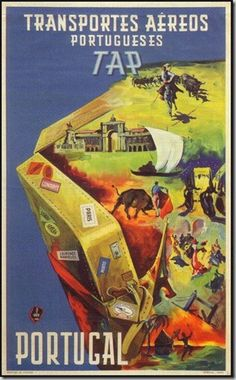 1948 (1º Cartaz publicitário da TAP) http://www.ownersdirect.co.uk/portugal/p4294.htm