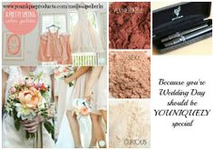 Why not choose #younique pigments to match you're #wedding color palette? Long lasting 100% natural sweat proof beautiful colors that will compliment you and your wedding party the whole day through.... www.youniqueproducts.com/PamKey