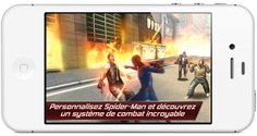 Incarnez l'homme-araignée dans The Amazing Spider-Man, disponible maintenant sur iOS. http://www.iphone4.fr/incarnez-homme-araignee-dans-the-amazing-spider-man-disponible-maintenant-sur-ios/#