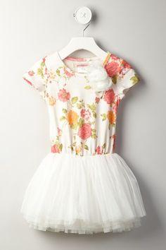 Paulinie Short Sleeve Applique Tutu Dress by Paulinie on @HauteLook