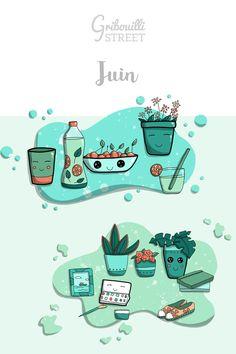 #gribouillistreet #juin #doodle Illustrations, Doodle Art, Doodles, Bullet Journal, Comics, School, Draw, June, Bricolage