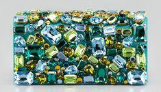 Prada Jeweled Satin Clutch