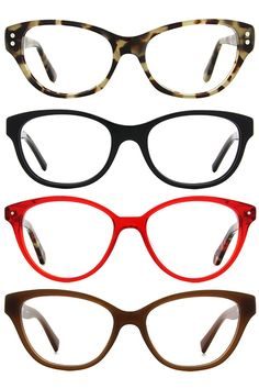 Cateyes, the perennial favorite in recent years, brings a professional yet feminine feel to your glasses.