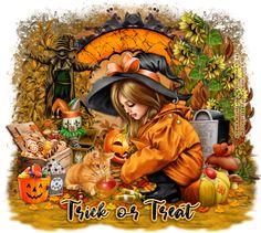 Trick or Treat-WicekdCute-MC Halloween Trick Or Treat, Halloween Boo, Mystic, Wicked, Album, Cute, Initials, Names, Sisters