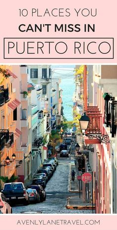 Puerto Rico is one of the easiest places to get to from the United States as well as one of the most beautiful! Click through to see what you can't miss while visiting the island!