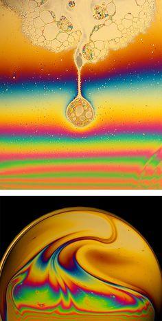 Macro Soap Film Photography by Jane Thomas | Inspiration Grid | Design Inspiration