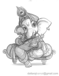 Images search results for ganesh drawing images from EMG Technologies. Ganesha Sketch, Ganesha Drawing, Ganesha Tattoo, Lord Ganesha Paintings, Lord Shiva Painting, Ganesha Art, Jai Ganesh, Shree Ganesh, Shiva Art