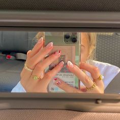 Hair And Nails, My Nails, Kylie Jenner Nails, Heart Nails, Photographie Portrait Inspiration, Nail Jewelry, Jewellery, Nail Ring, Funky Nails