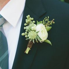 17 Cool Buttonhole Ideas For The Groom | You & Your Wedding - You and Your Wedding