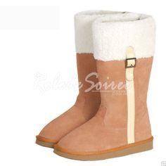 Bottes Fourrées-BGG neige bottes Classic Tall élégantes bottes en cuir de mode