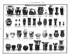 Pottery and Vase Shapes in 2019 | Vase shapes, Vase, Shape ...