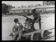 310. Our hero and the janitor on a handcar | Fast and Furious (1924)